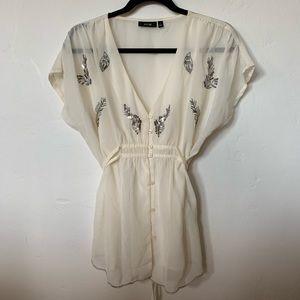 APT 9 sheer blouse